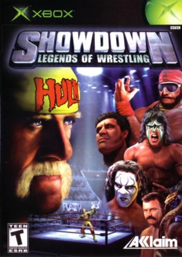 Cover zu Showdown: Legends of Wrestling