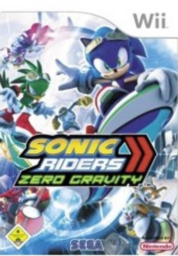 Cover zu Sonic Riders: Zero Gravity
