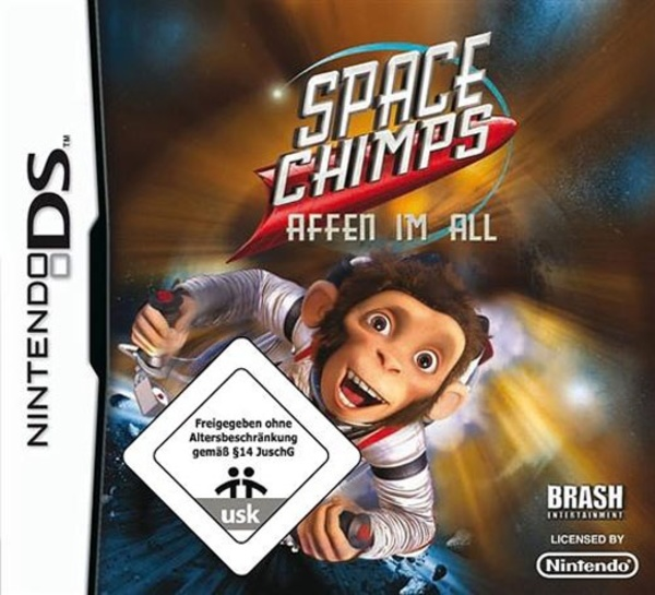 Cover zu Space Chimps