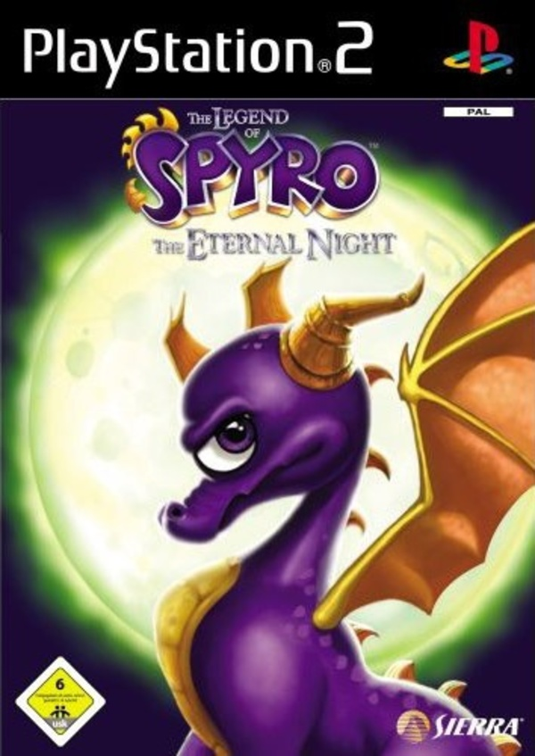 Cover zu The Legend of Spyro: The Eternal Night