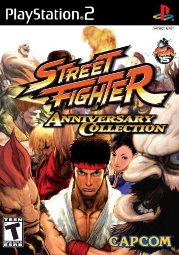 Cover zu Street Fighter: Anniversary Collection