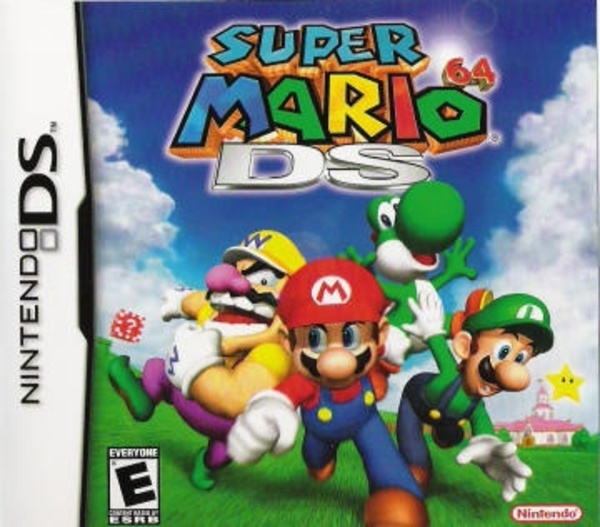 Cover zu Super Mario 64 DS