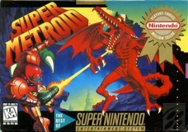 Cover zu Super Metroid