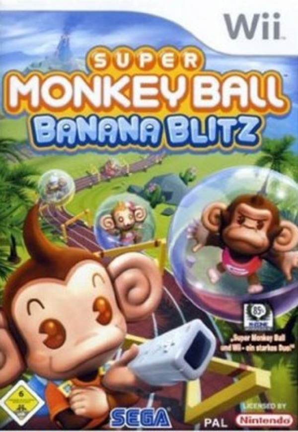 Cover zu Super Monkey Ball: Banana Blitz