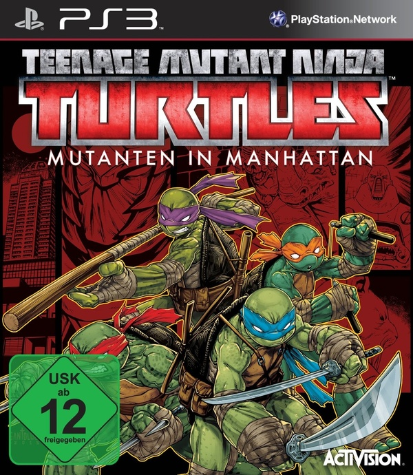 Cover zu Teenage Mutant Ninja Turtles: Mutants in Manhattan