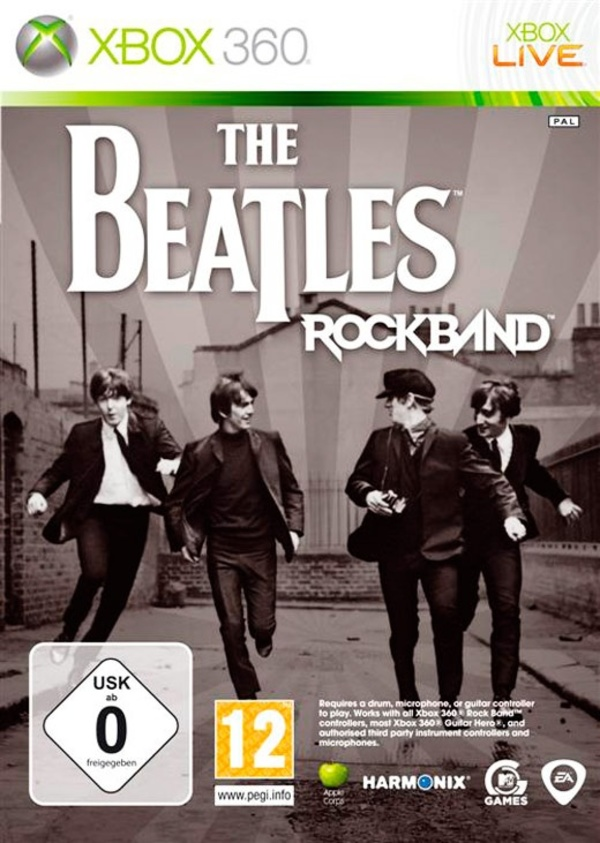 Cover zu The Beatles: Rock Band