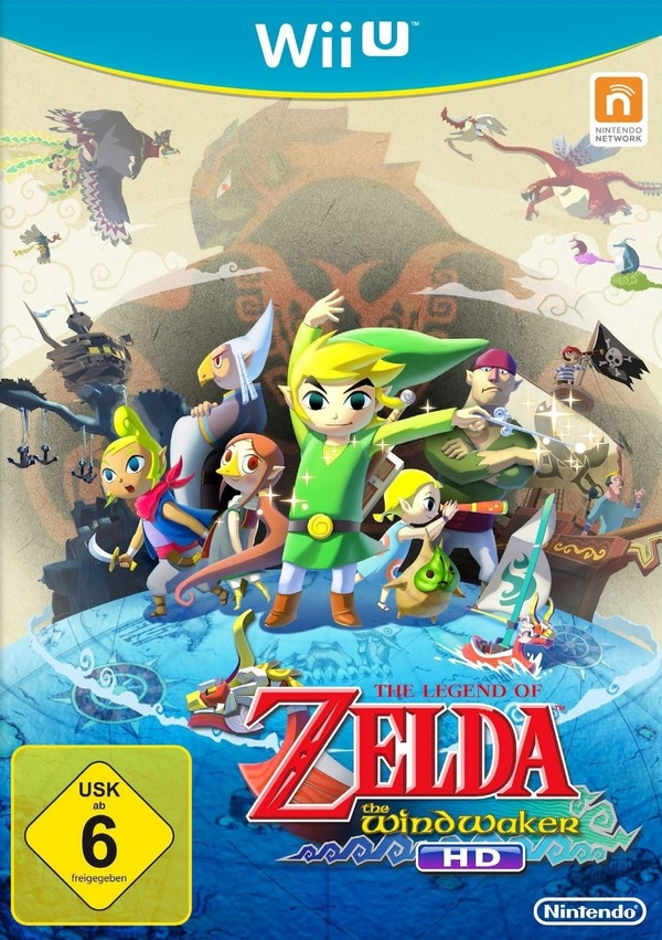 Cover zu The Legend of Zelda: The Wind Waker HD