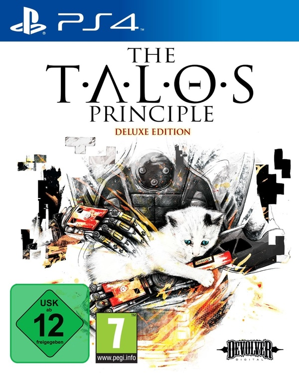Cover zu The Talos Principle - Deluxe Edition
