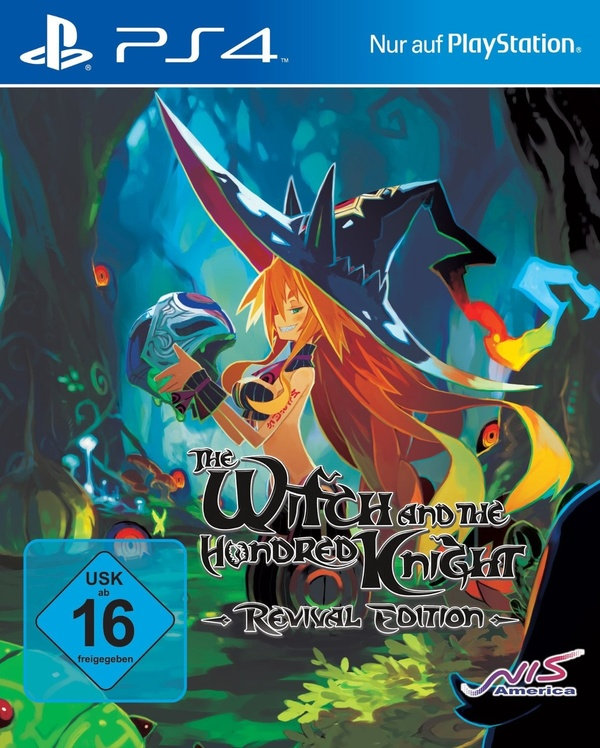 Cover zu The Witch and the Hundred Knights: Revival Edition