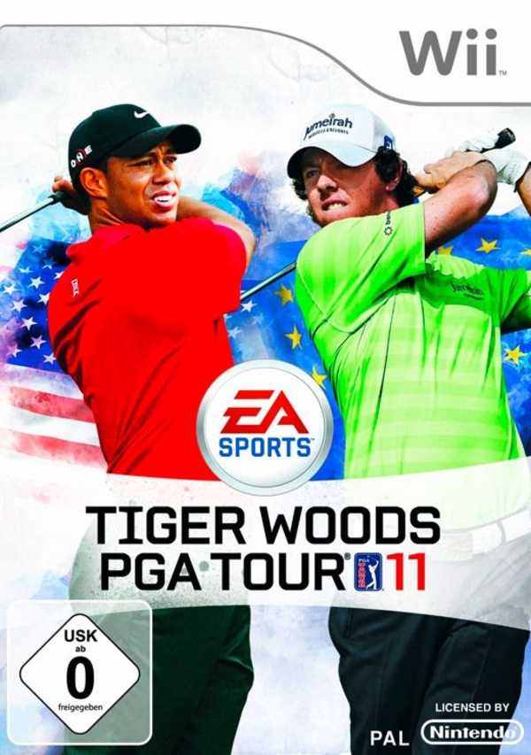 Cover zu Tiger Woods PGA Tour 11