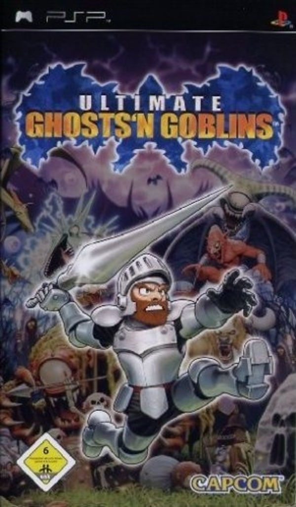 Cover zu Ultimate Ghosts'n Goblins