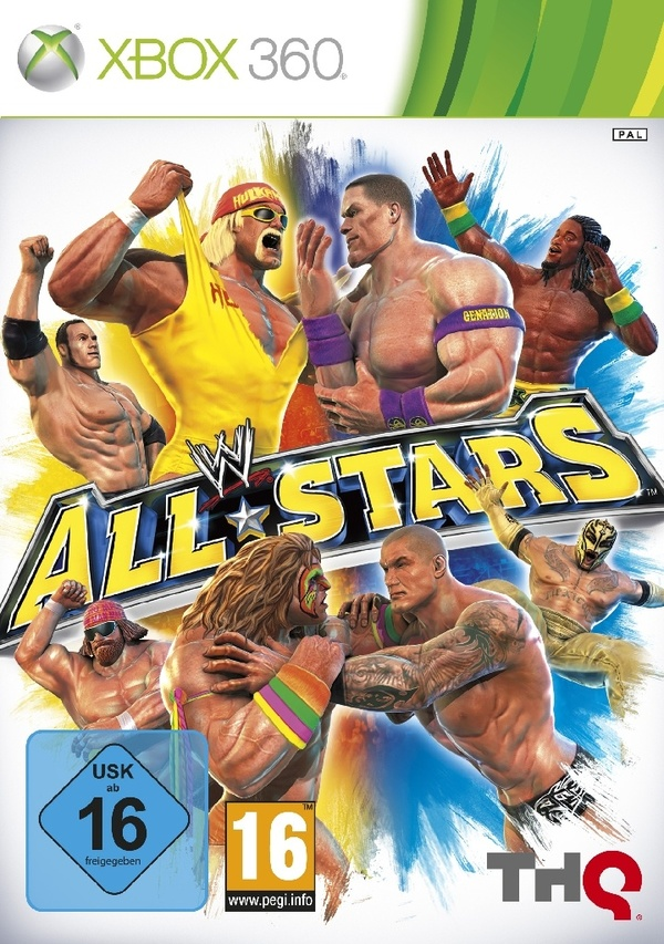 Cover zu WWE All Stars