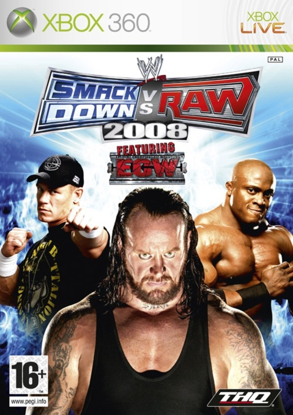Cover zu WWE SmackDown vs. Raw 2008