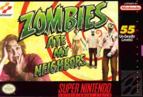 Cover zu Zombies Ate My Neighbors