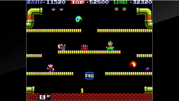 Screenshot zu Arcade Archives: Mario Bros. (Nintendo Switch) - Screenshots