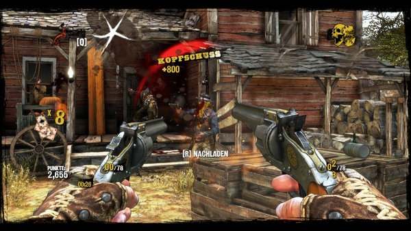 Screenshot zu Call of Juarez: Gunslinger (PSN) - Screenshots aus der PC-Version