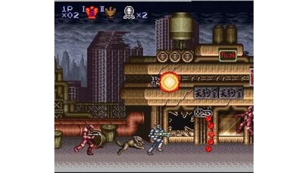 Screenshot zu Contra III: The Alien Wars SNES (SNES) -