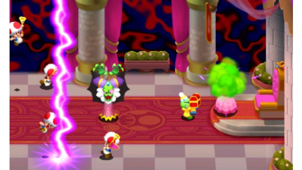Screenshot zu Mario & Luigi: Superstar Saga + Bowsers Schergen (3DS) - Screenshots