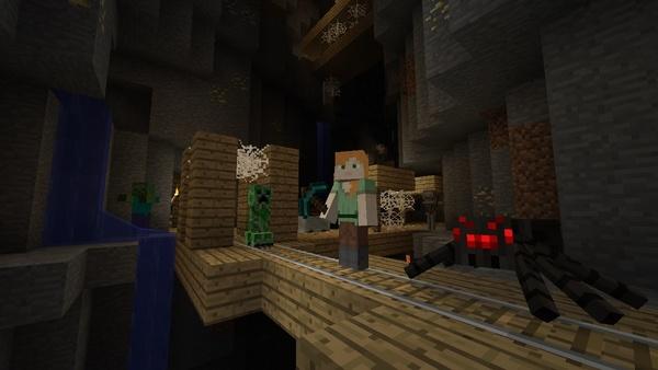 Screenshot zu Minecraft (Wii U) - Screenshots der Wii-U-Version
