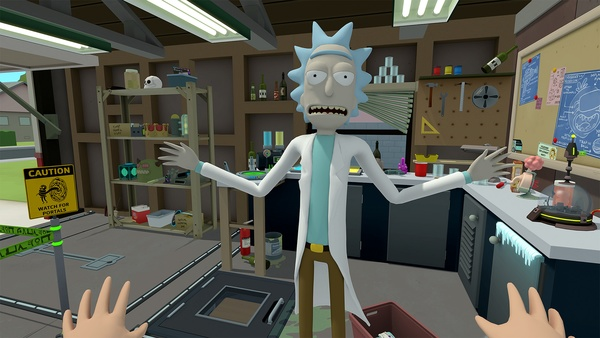 Screenshot zu Rick and Morty: Virtual Rick-ality (PS4) - Screenshots