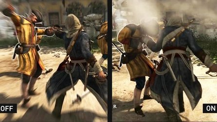 Assassins Creed 4: Black Flag - Technik-Trailer zeigt PhysX-Patch im Detail