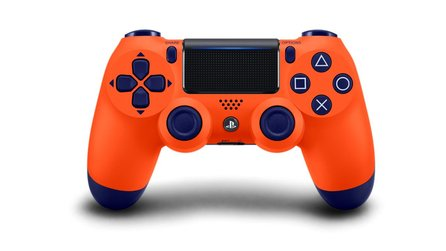 PS4 - Sony enthüllt neuen Sunset Orange-Controller, Release im November