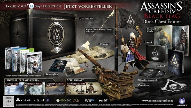Assassin's Creed 4: Black Flag - Die Black Chest Edition
