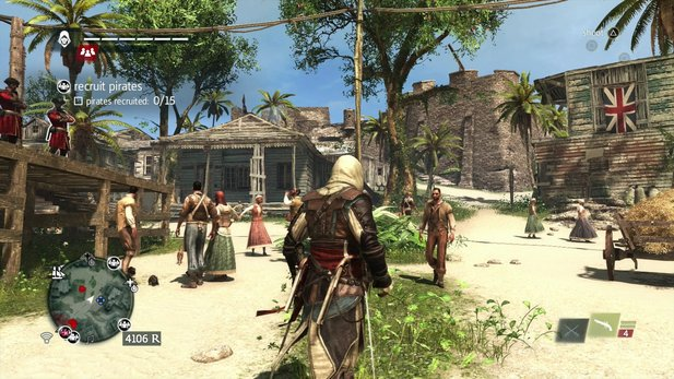 Assassin's Creed 4: Black Flag erreicht auf dem PC den Goldstatus.