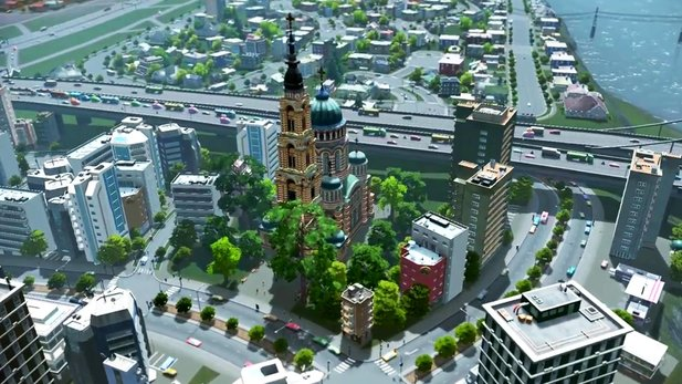 Cities Skylines - Launch-Trailer zur Städtebau-Sim