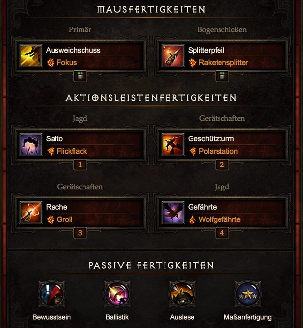 Diablo 3 Patch 2.4.1 Starter Build »Marodeur« für den Demon Hunter