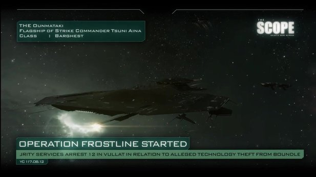 Eve Online - The Scope Video zum Operation-Frostline-Update