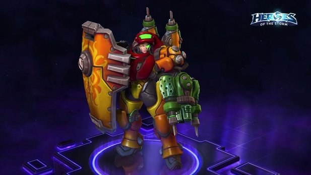 Heroes of the Storm - Trailer zeigt neue Helden, Skins und Mounts