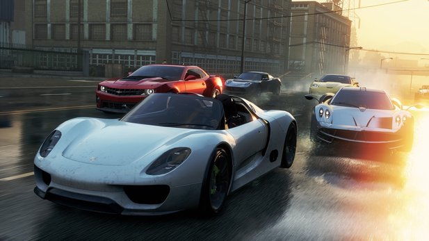In Need for Speed: Most Wanted gibt es 41 Autos.