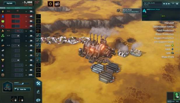 Mit dem DLC Limited Supply wird Offworld Trading Company zum Survival-Game.