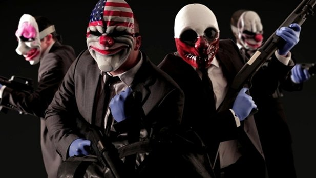 Test-Video von PayDay 2