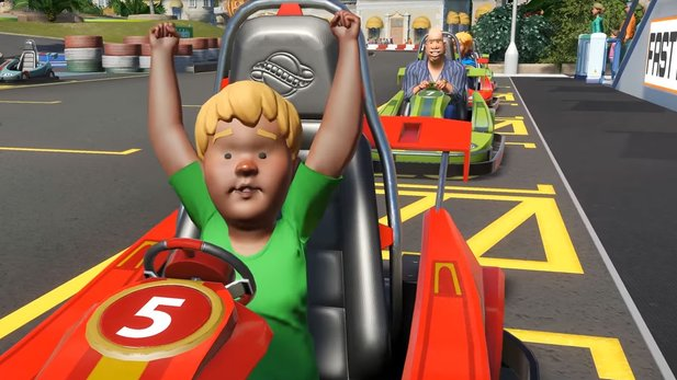 Planet Coaster - In-Game-Trailer stellt das Frühlings-Update 1.2 vor