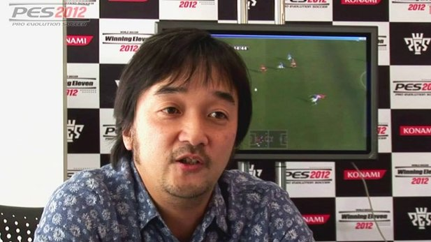 Interview-Video zu Pro Evolution Soccer 2012