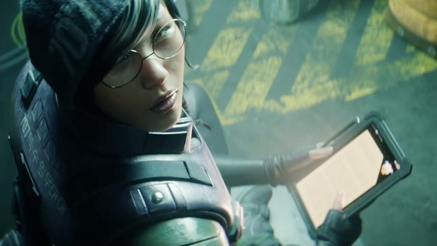 "Rainbow Six: Siege - CGI-Trailer: ""The Hammer and the Scalpel"": Thatcher gegen Dokkaebi"