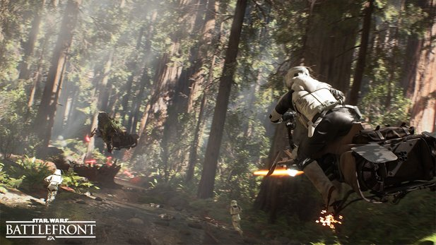 Eine Single-Player-Kampagne für Star Wars: Battlefront war nie in Arbeit.