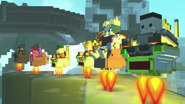 Trove - Update »Take Off« im Ingame-Trailer