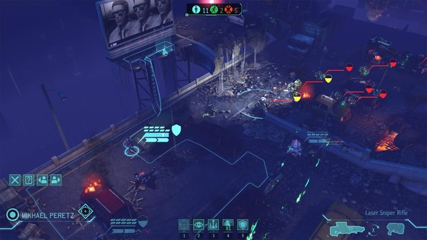 Großartige Rundenstrategie in XCOM: Enemy Unknown.