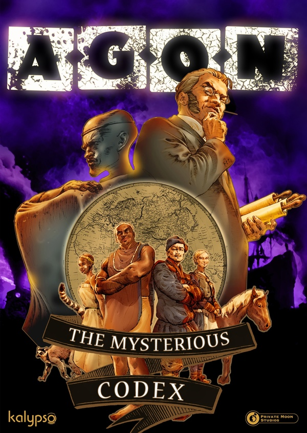 Cover zu AGON: The Mysterious Codex