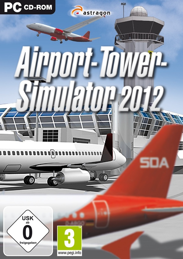 Cover zu Airport-Tower-Simulator 2012