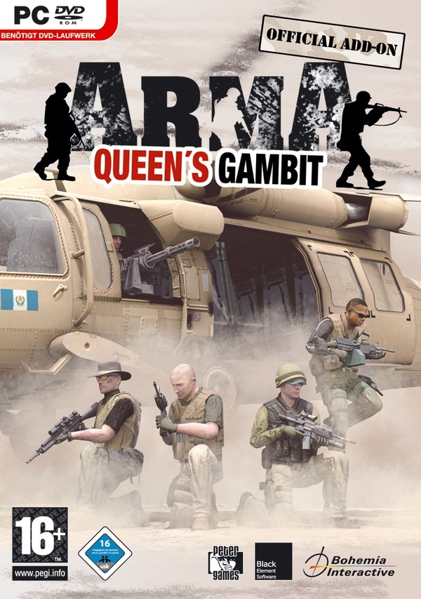 Cover zu Armed Assault: Queen's Gambit