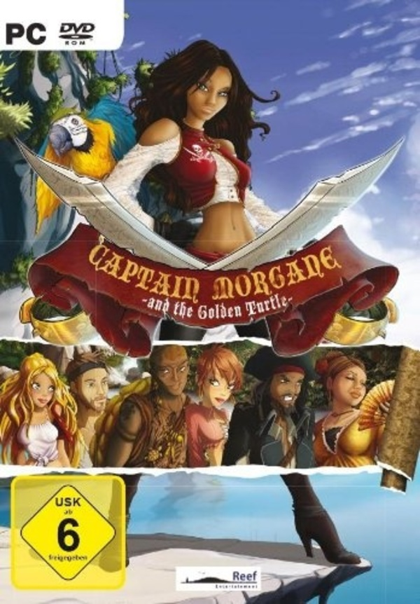 Cover zu Captain Morgane and the Golden Turtle