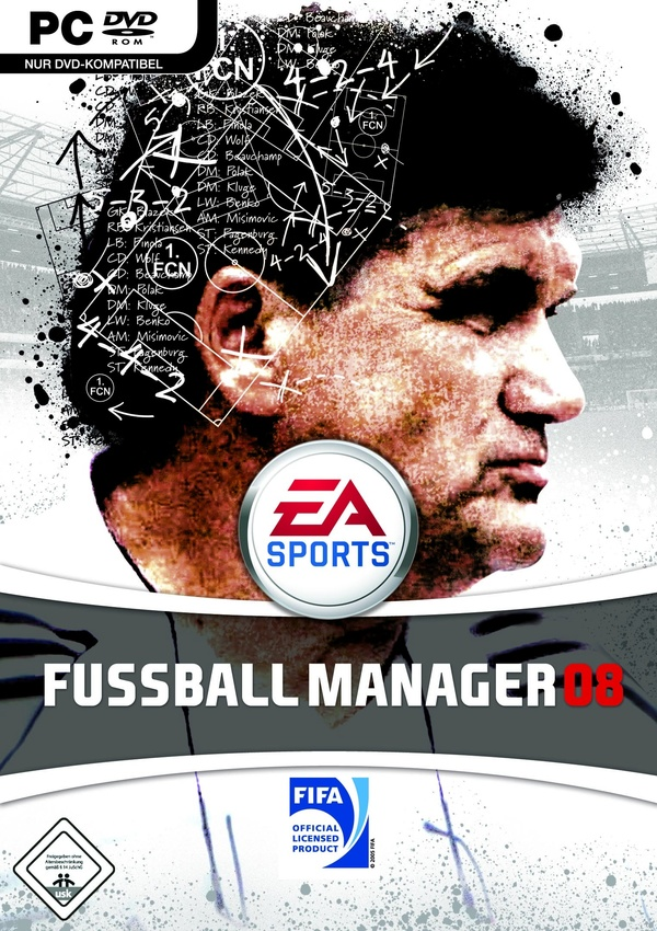 fussball manager 08 pc spiele cover gamestar. Black Bedroom Furniture Sets. Home Design Ideas