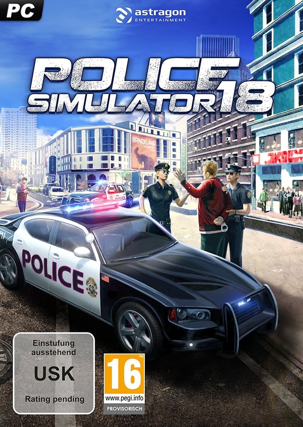 Cover zu Police Simulator 18