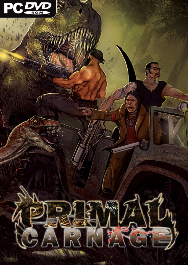 Cover zu Primal Carnage