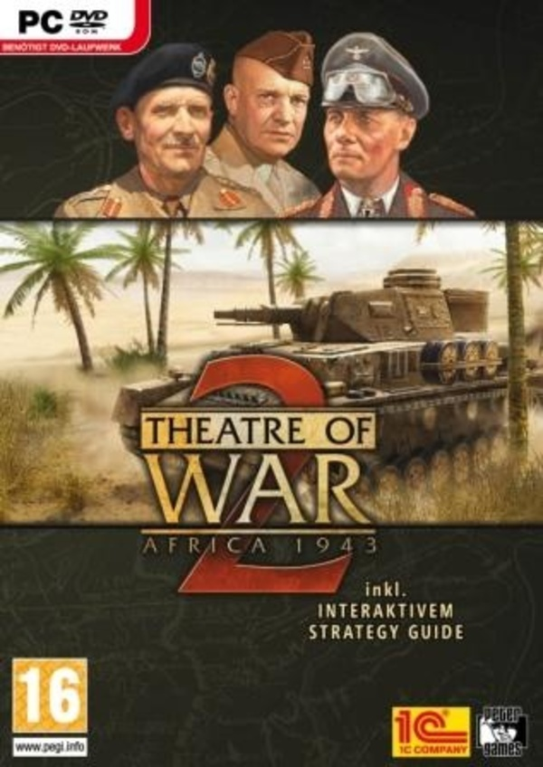 Cover zu Theatre of War 2: Africa 1943
