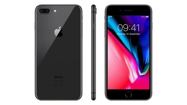 Apple iPhone 8 Plus 256 GB für 549 € bei MediaMarkt